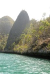 wśród wysepek na Wayag 2