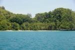plaża na północy Ulong, na której kręcono Survival