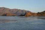 widok na Wyspę Rinca z naszego kotwicowiska Uwada Dasami