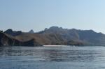 Pink Beach widziana w wody ZS