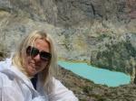 Madzia i turkus wody jeziora Kelimutu MT