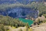 trzecie jezioro niczym ogromna studnia