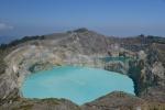 widok na jeziora z górnego tarasu widokowego