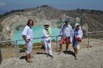 Kuba, Roma, Marek i Madzia na tle jezior ZS