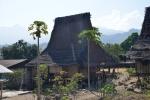 tradycyjne chaty z Flores