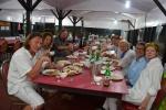nasza ekipa podczas kolacji