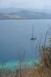 Katharsis II na kotwicy w Seventeen Islands Marine Park ZS