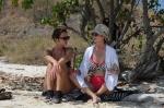 Magda i Roma na plaży ZS