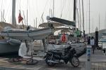 Katharsis opuszcza na dobre Yacht Haven Marina 27.04.2016