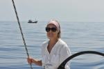 Hanuś na tle rybaczka z Sumatry