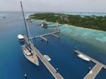 Katharsis w jedynej marinie na Malediwach