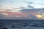 niebo o zachodzie słońca 21.07.2016