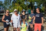 nasza plażowa ekipa z Marcinem poznanym Hulhumale