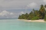 malediwski banał - plaża w Ayada