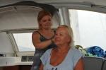 Olcia tym razem w roli fryzjerki ZS