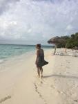 Olka Włóczykij na Malediwach