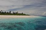 wysepka we wnętrzu atolu Baa