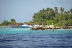 wioska na wyspie Dhigurah w Południowym Atolu Ari
