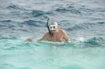 Tomek w szale snorklingu ZS