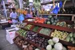 warzywa na lokalnym targu w Male