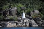 jedna z wielu tak samo wyglądających latarni morskich