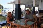 Ola i Mariusz w Seychelles Yacht Club w Victorii