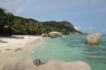 plaża numer 1 z przewodników po Seszelach - Anse Source d'Argent ZS