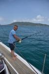 Paweł poluje na rybę AP