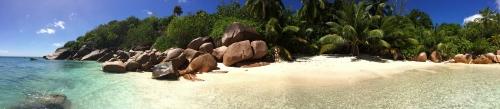 Plaża Oli na Praslin
