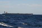 przy południowych brzegach Afryki mijamy coraz więcej statków