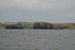 skalne wyspy w Coffe Bay