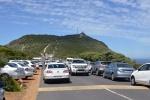niedzielny korek w drodze na Cape Point - punkt widokowy na Przylądek Dobrej Nadziei