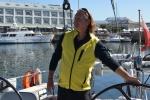 Mariusz wpływa do mariny w Kapsztadzie